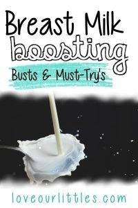 Breast milk boosting busts and must try products