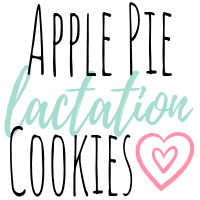 Apple Pie Lactation Cookies