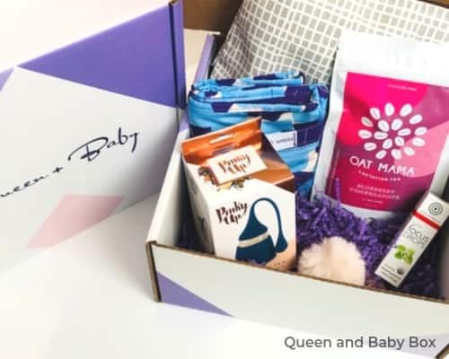 Image of Queen and Baby Box for pumping at work moms.