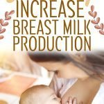 Naturally increase breast milk production breastfeeding a baby image