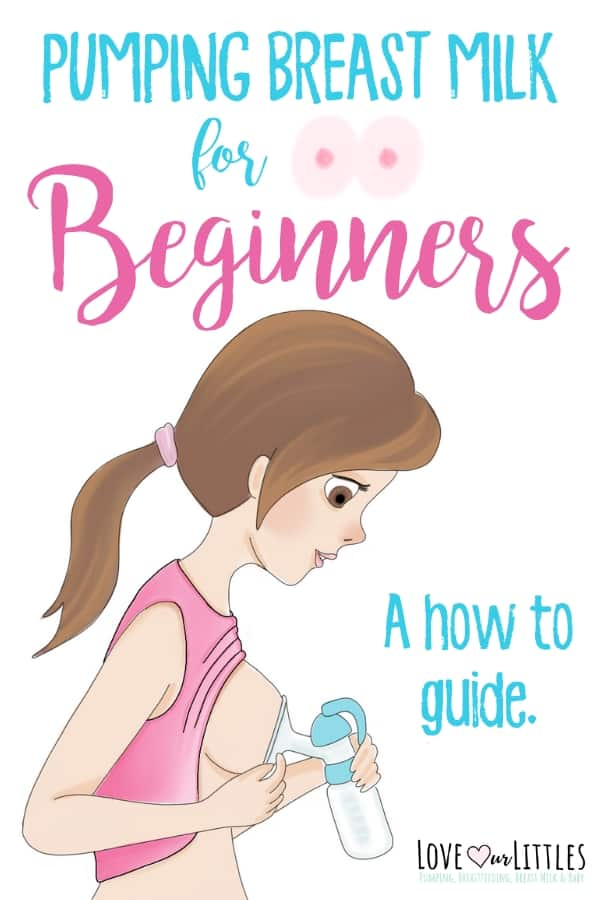 Pumping breast Milk for beginners