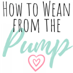 how to wean from the pump - featured image
