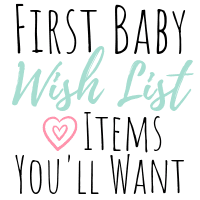 A Small Wish List for Baby that may be a Little Extra