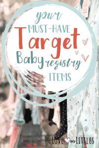 sample baby registry for target pin it