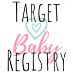 sample baby registry for target