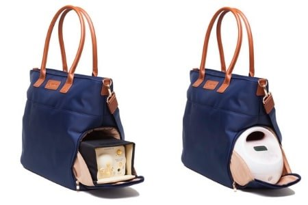 """best breast pump bags of 2019 """"abby by Sarah wells"""""""
