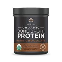 Ancient Nutrition, Bone Broth Protein Dark Chocolate Organic, 17.8 Ounce