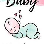 Baby page pin image