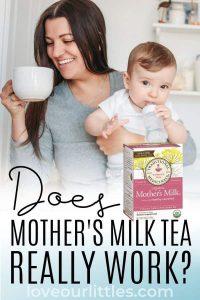 Does mother's milk tea work?