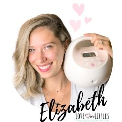 A photo of Elizabeth, the creator of Love Our Littles