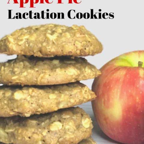 apple pie lactation cookies recipe
