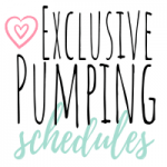 exclusive pumping schedule featured image