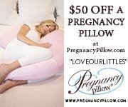 Pregnancy pillow $50 off with code LOVEOURLITTLES