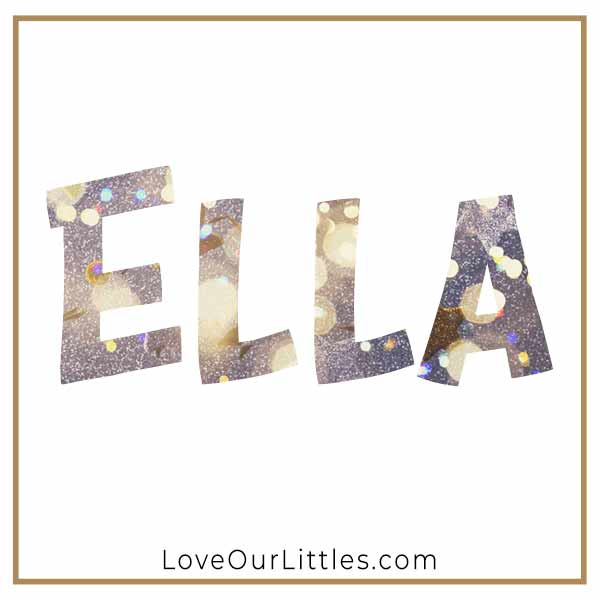 Baby Name for Girls - Ella