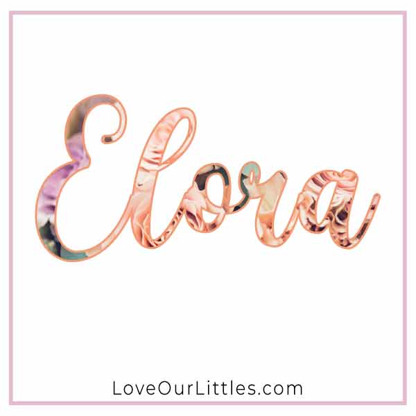 Baby Name for Girls - Elora