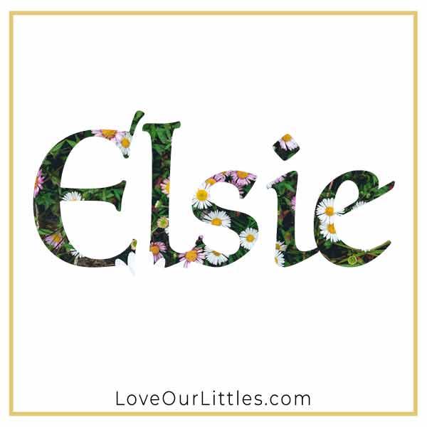 Baby Name for Girls - Elsie
