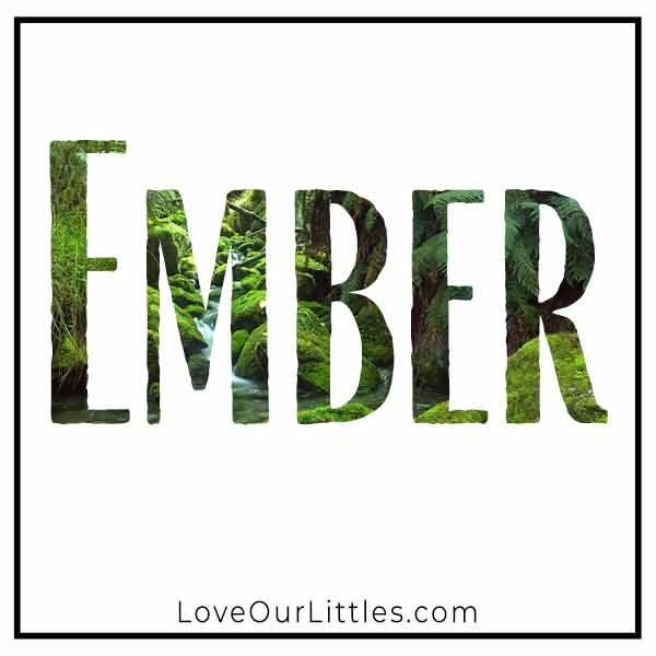Baby Name for Girls - Ember