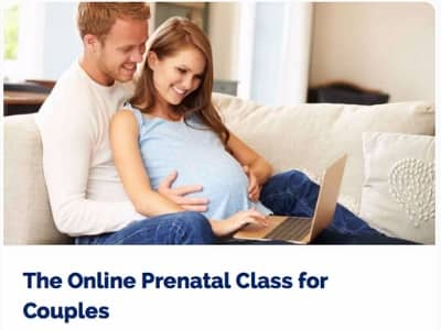 Online prenatal class for couples 2