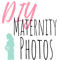 diy maternity photos