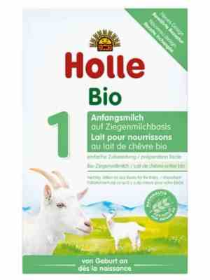 holle goats milk formula.