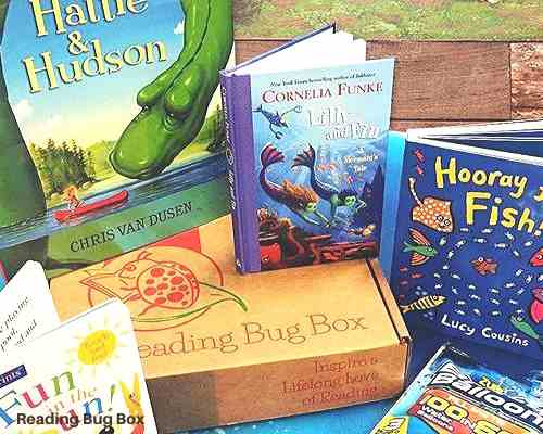 Baby Bug Book Subscription box for babies and toddlers.