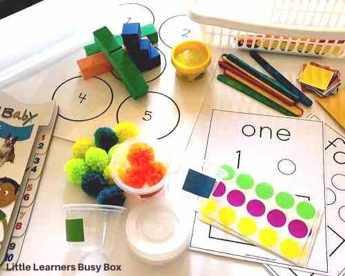 Little Learners Box, subscription box for 2 year old.