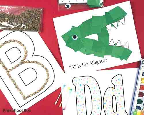 preschool activity subscription box for toddlers and preschoolers.