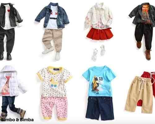 Bimbo and Bimba toddler subscription box clothing