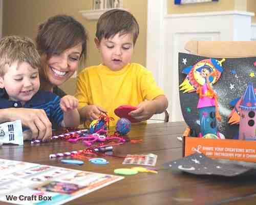 We Craft Box Subscription Box for 3-9 year olds