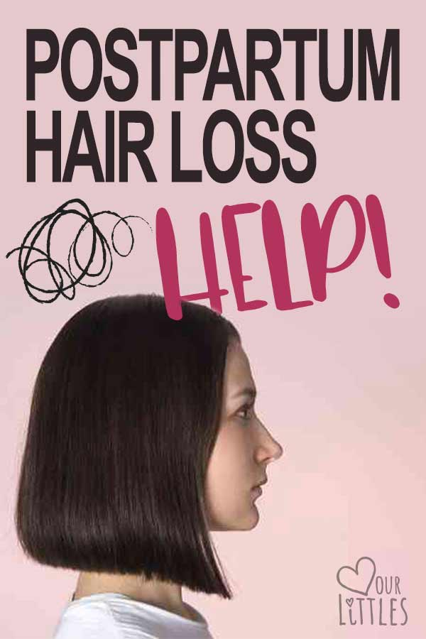 postpartum hair loss help tips