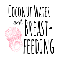 Featured image coconut water and breastfeeding