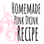 Featured image homemade pink drink recipe