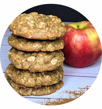 Apple pie lactation cookies create card hero image